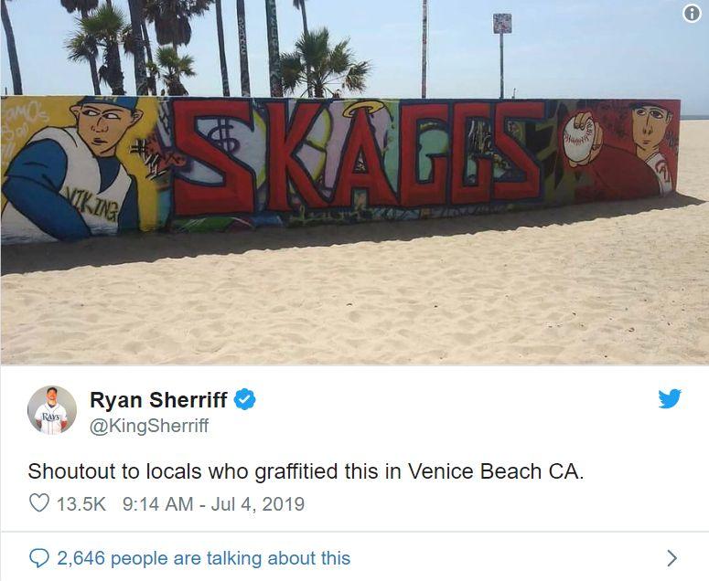 Tyler Skaggs Mural