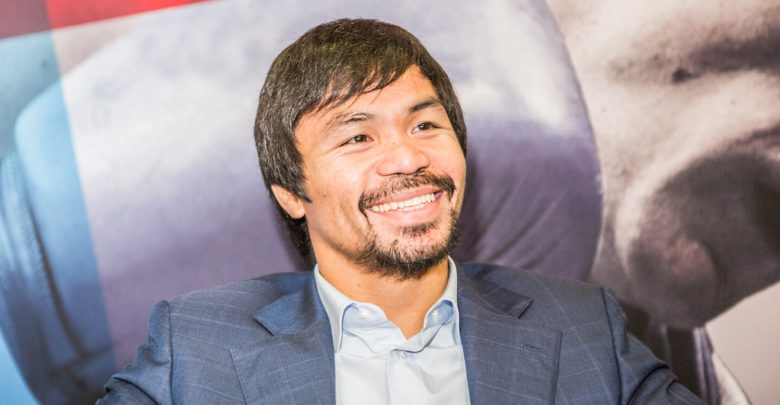 Manny Pacquiao vs. Shawn Porter in 2020
