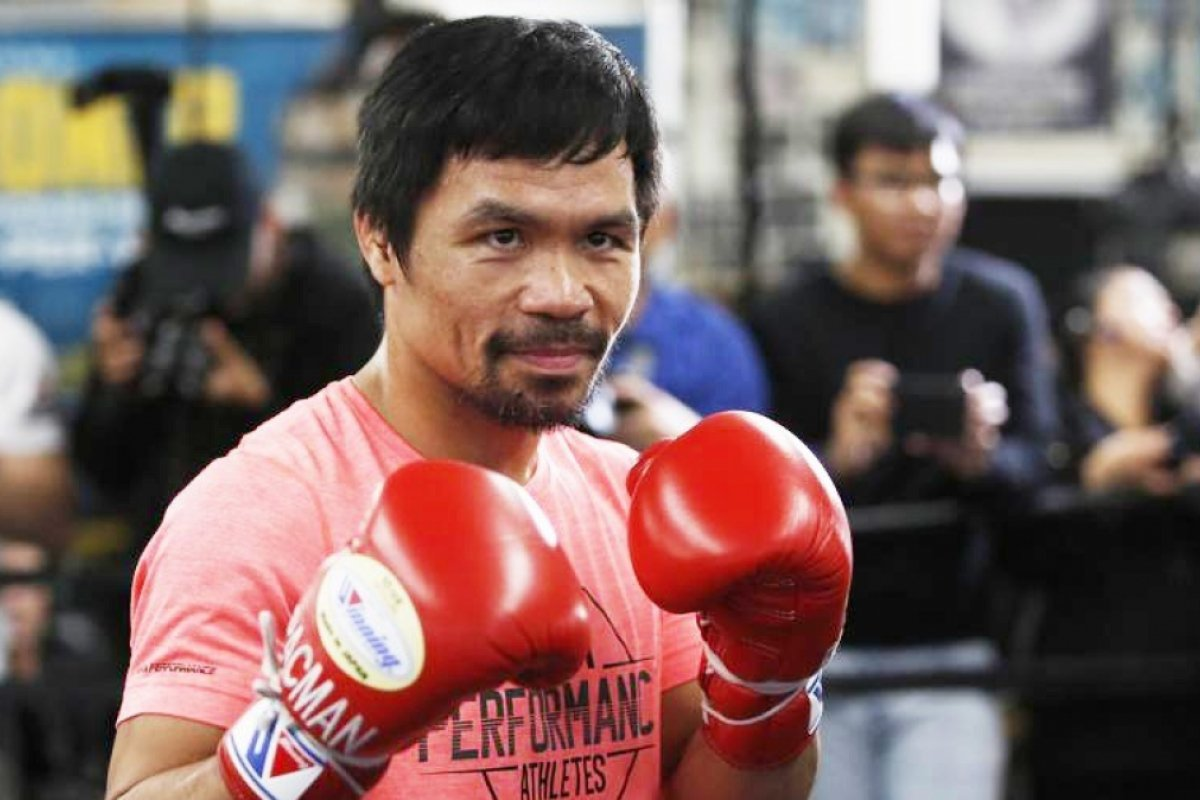 Manny Pacquiao To KO Keith Thuman, Then Fight Floyd Mayweather
