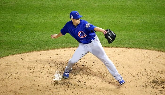 Kyle Hendricks Leads Cubs In Unexpected Fashion