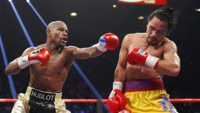 Floyd Mayweather Says Manny Pacquiao Will Lose Rematch