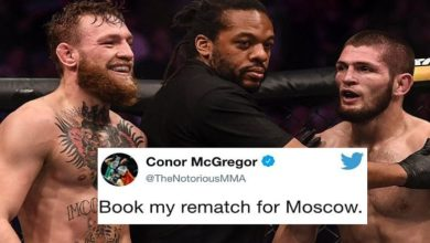 Conor McGregor Begs Khabib Nurmagomedov For Rematch