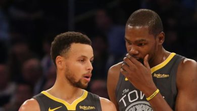 Stephen Curry Mocks Kevin Durant For Complaining About the Warriors
