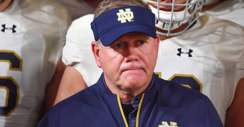 Brian Kelly Gets Brutally Honest About Notre Dame