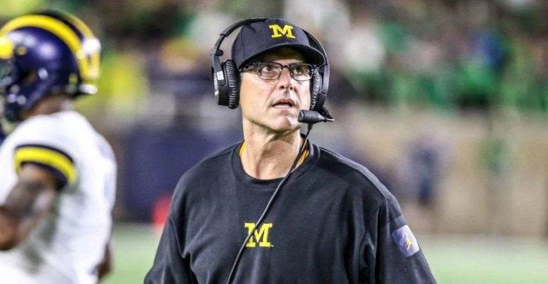 Michigan Is About To Fire Jim Harbaugh