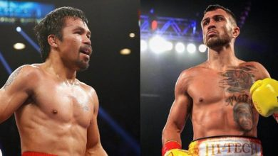 Will Manny Pacquiao Fight Floyd Mayweather Or Vasyl Lomachenko Next?