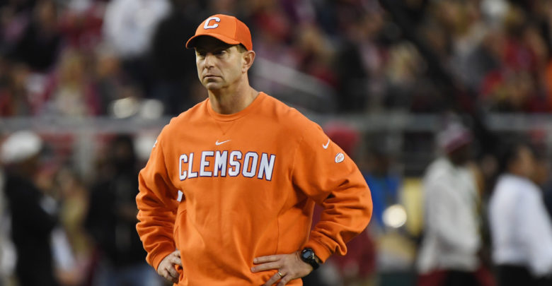 Dabo Swinney And Clemson Are Tired Of Alabama Lovers
