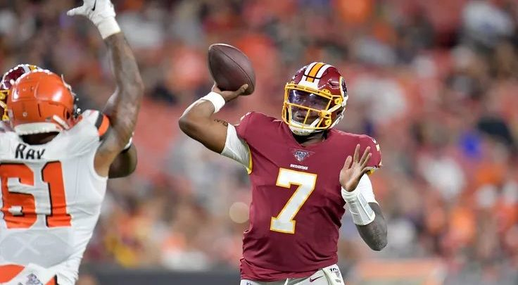 Redskins Coaches Think Dwayne Haskins Sucks