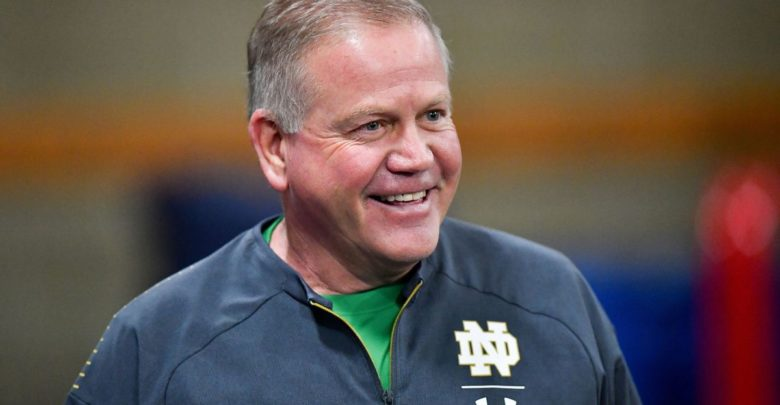 Is Brian Kelly Leaving Notre Dame To Coach Redskins?