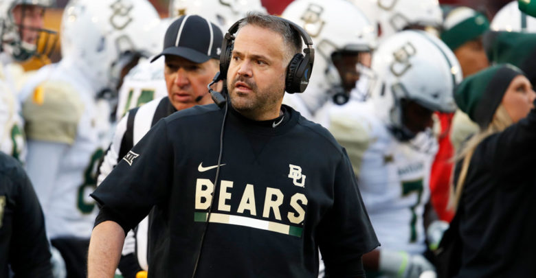 Will Jets Fire Adam Gase, Replace Him With Baylor's Matt Rhule?