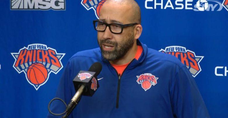 Knicks Are Firing David Fizdale