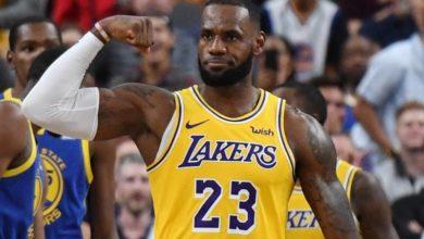 LeBron James' Shot At Warriors Goes Viral