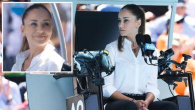 Chair Umpire Marijana Veljovic Stands Up To Roger Federer