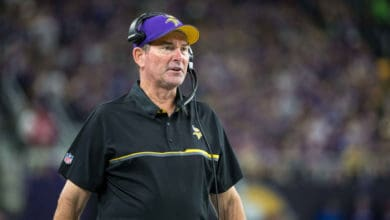 Mike Zimmer Responds To Vikings Trading Stefon Diggs