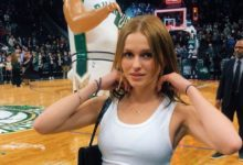 Mallory Edens' Outfit During Lakers vs Bucks Goes Viral