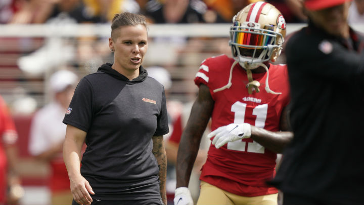 Will Packers Sign 49ers Coach Katie Sowers?
