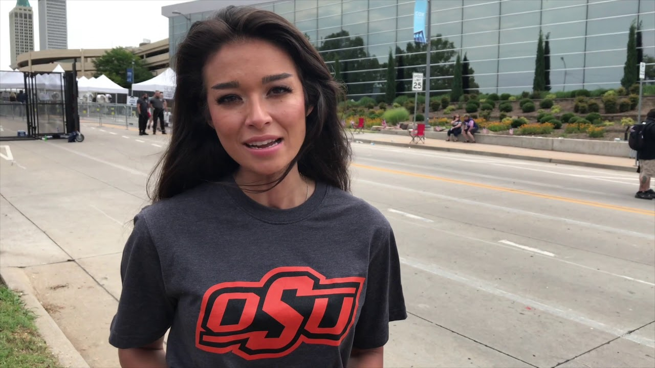 OAN's Chanel Rion Trolls OSU's Mike Gundy With T-Shirt