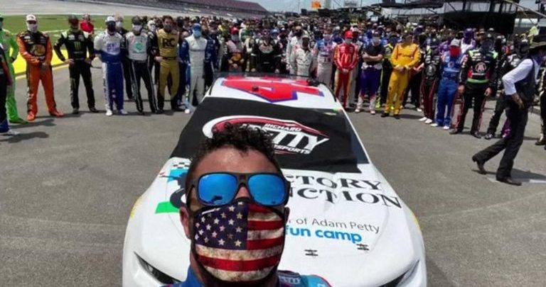 Bubba Wallace: Why Don't Confederate Flag Protesters Don't Get Pepper Sprayed?