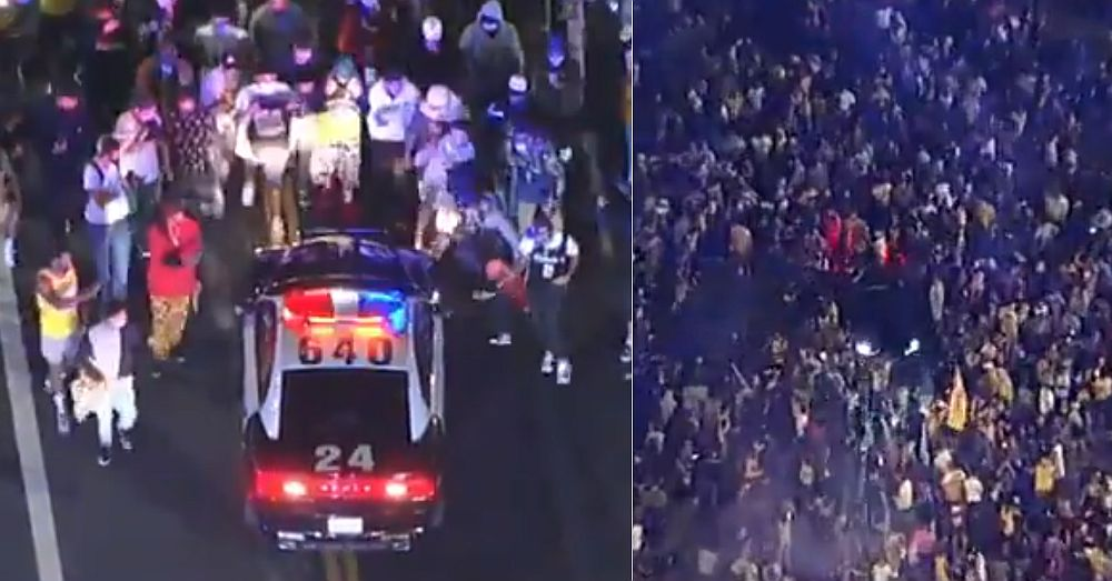 Lakers Fans Riot In LA Streets After Championship Win ...