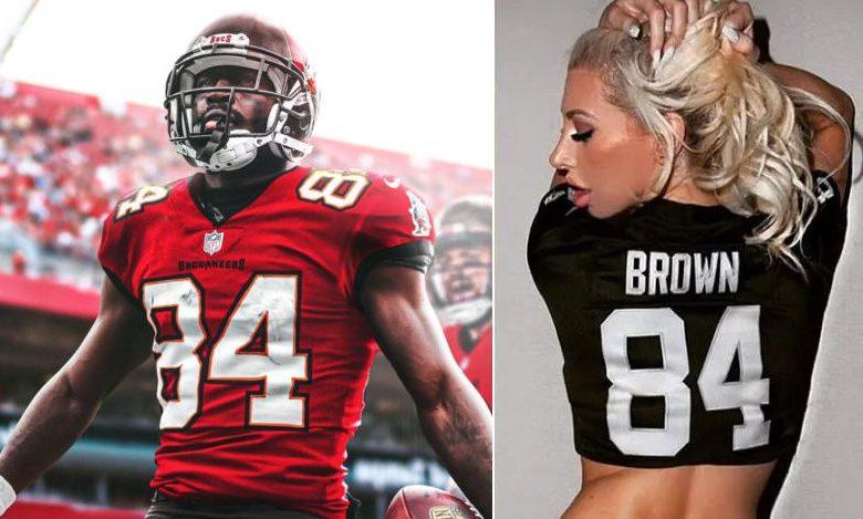 Model Tries To Expose Antonio Brown Pays The Price Game 7